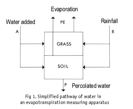 Diagram of water pathway.