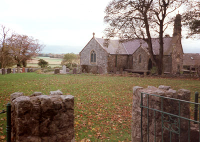 Llansadwrn Church, Anglesey (Ynys Môn). Photo: © D. Perkins.